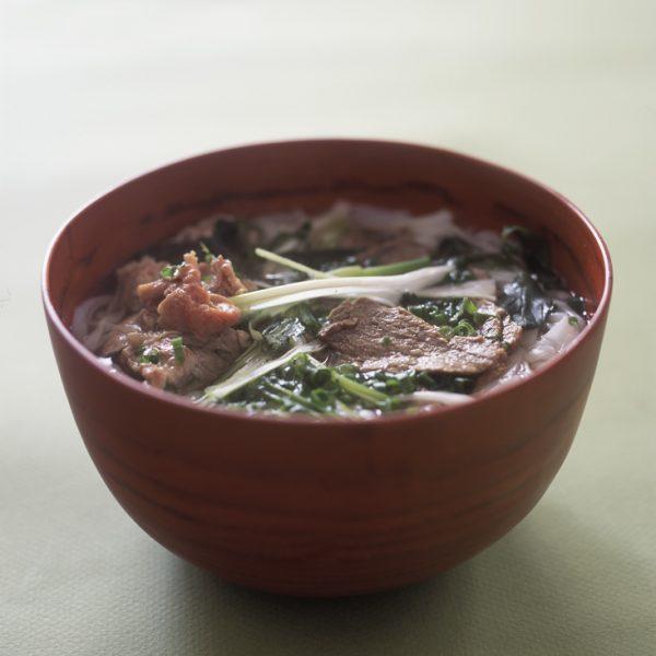 Beef noodle soup 2
